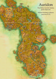 Pathfinder World Map by Auridon Map The Elder Scrolls Online Game Maps Com
