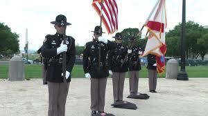 Color Guard Presentation Of The Flags Fhp Honor Guard Competition Team Posting Of Colors Youtube
