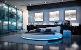chambre lit rond led éclairage chambre meubles king size lit rond buy product on
