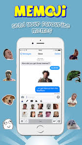 Meme Keyboard Iphone - memoji emoji meme sticker keyboard on the app store