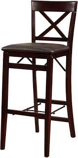 Fold Up Bar Stool Fold Up Bar Stool Franklin With Backrest Foldable Black Stools