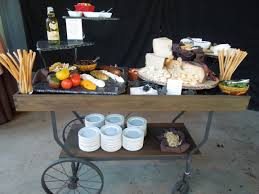 add our antique wooden cart to your food display for unique rustic