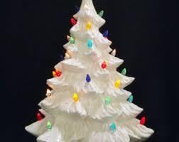 white ceramic tree 16 inches