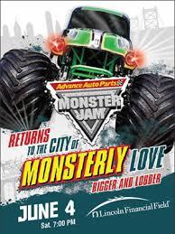 4 tickets monster truck jam giveaway u0026 ten list
