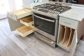 Kitchen Cabinets With Drawers That Roll Out by Cabinet Storage Solutions Custom Kitchen Cabinets