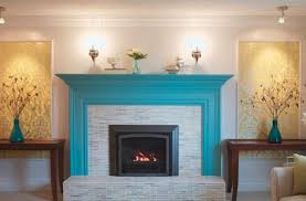 painted brick fireplace ideas binhminh decoration