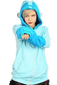 Hoodie Halloween Costumes Amazon Xcoser Mega Man Sweatshirt Hoodie Jacket Halloween