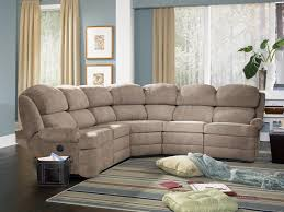Reclining Sectional Sofa Transitional 5 Piece Reclining Sectional Sofa With Small Rolled
