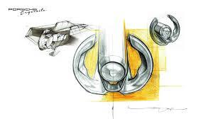 porsche cartoon drawing porsche exquisite master thesis on behance