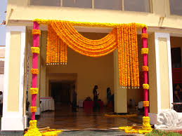 Entrance Decor Ideas For Home by New Indian Engagement Decoration Ideas Home Modern Rooms Colorful