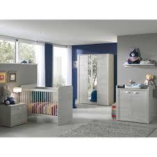 chambre complete bebe bébé complète avec lit évolutif coloris chêne blanc