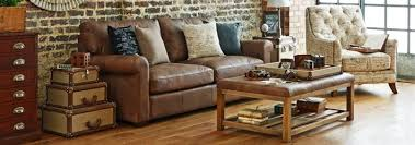 shabby chic brown leather sofa centerfieldbar com