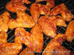 almost fried breaded grilled chicken wings outdoor grill recipe
