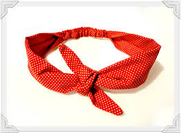 retro headbands bow tie scarf retro tie headband boho vintage