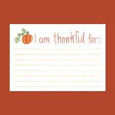 i am thankful for cards thanksgiving cards thankful for fill in
