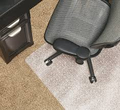 Realspace Chairs Realspace Chair Mat For Medium Pile Carpet Rectangular 36 W X 48 D