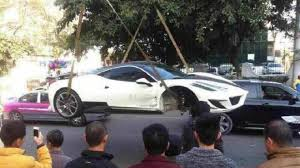 mansory ferrari rare mansory ferrari 458 siracusa crashed heavily in china