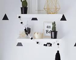 Black white decor