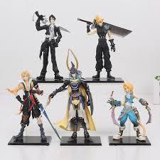 Warrior Of Light Final Fantasy 5pcs Set Cloud Strife Squall Leonhart Tidus Warrior
