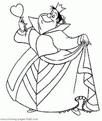 disney queen hearts coloring pages free disney queen hearts
