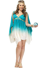 Athena Halloween Costume Brand Calypso Sea Goddess Size Halloween Costume