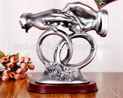 best selling oem odm resin gift for newly married buy