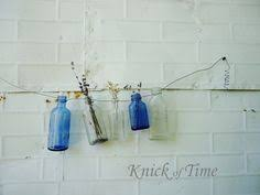 bud vase garland barbed wire flowers wall hanging antiques salvage junk