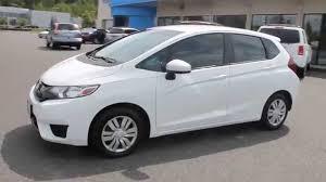 honda white car 2015 honda fit white orchid pearl stock 7863b walk around