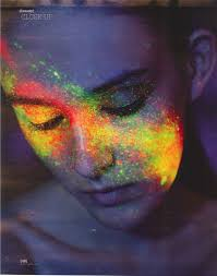 glow in the makeup 20 best uv makeup and painting images on uv