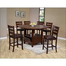 holland house 1920 casual 7 piece pub table and chair set godby