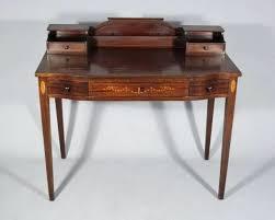 Mahogany Desk Accessories Desk Vintage Look Desk Accessories Antique Caign Style