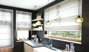 window treatments for kitchens contemporary drapes kitchen curtains roll up window treatments bomer