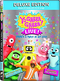 amazon yo gabba gabba deluxe edition dvd cd dj lance rock