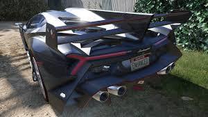 Lamborghini Veneno Back - lamborghini veneno 2013 gta5 mods com