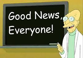 Professor Farnsworth Meme - good news everyone youtube