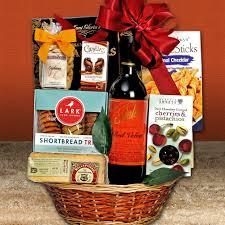 wine gift basket velvet wine gift basket