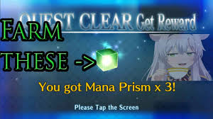 guide how to farm mana prisms in fate grand order english japan