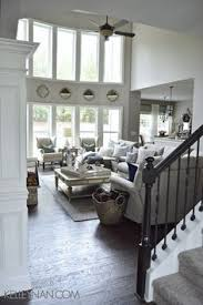 Cottage Living Room Designs by Cozy Cottage Living Room Wall To Wall Bookshelves Pottery Barn