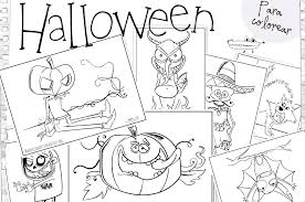 imagenes de halloween para imprimir y colorear dibujos de halloween manualidades infantiles