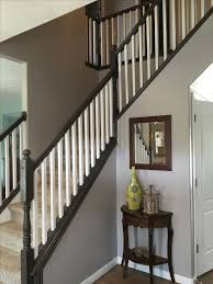 Painting A Banister Black Best 25 Indoor Stair Railing Ideas On Pinterest Stair Case