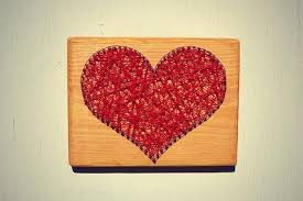 heart string and nail art wall decor u2013 cranberry collective