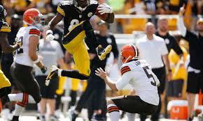 colts punter pat mcafee appeals to steelers wr antonio brown to