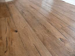 Distressed Engineered Wood Flooring Unfinished Distressed Engineered Oak With Granwax Antiqued