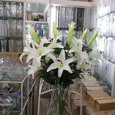2017 silk flowers for home decoration wedding garden large plastic