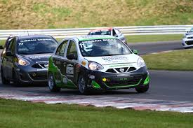 nissan micra owners club 2017 championship title for olivier bedard in the nissan micra cup