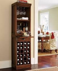 Entertainment Bar Cabinet Solid Wood Bar With Bar Cabinet Walnut Bar Open Display Shelves