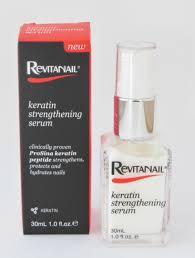 product review revitanail keratin strengthening serum the