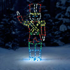 animated outdoor christmas decorations proline animated saluting soldier led outdoor christmas decoration