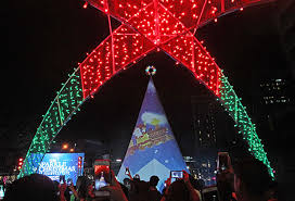what do christmas lights represent filinvest city sparkles this christmas philstar com
