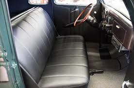 Car Upholstery Company 1936 Ford Deluxe 5 Window Coupe Seat Upholstery And Driver U0027s